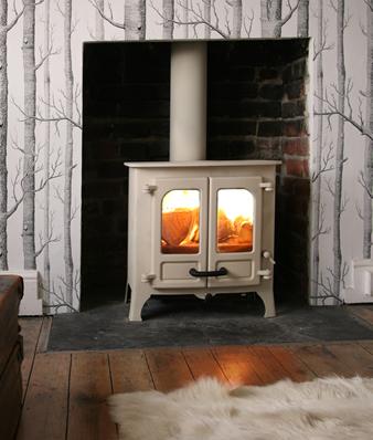 Charnwood Island Wood burning stove hampshire