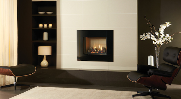 Gas fire showroom hampshire showing the Riva2 500