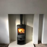 Wood Burning Stove installed into another home!