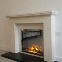Clean and Simple Fireplace installation