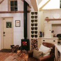 Cove 1 Flue System in a homely setting
