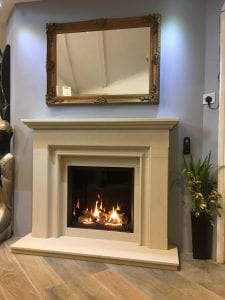 Riva 2600 Fireplace installed in Salisbury