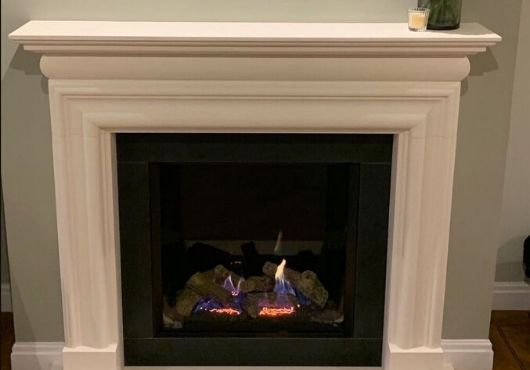 limestone fireplaces fleet hampshire