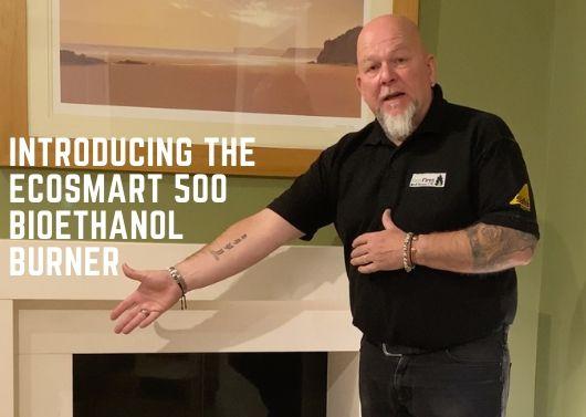 Ecosmart 500 bioethanol burner