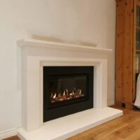 Gazco Studio 1 balanced flue gas fire