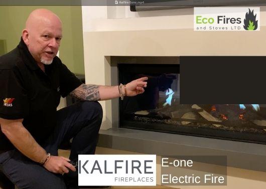 Kalfire E-one Ecofires and stoves Fleet Hants